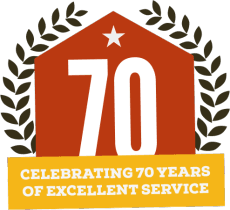 Celebrating 70 Years of Excellent Service